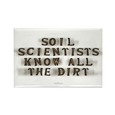 10 Soil Scientists Know The Dirt Rectangle Magnets