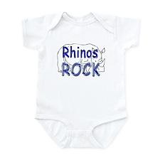 Rhinos Rock Onesie