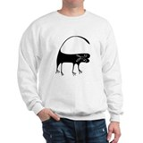 Cat Figure (Front only) Sweatshirt