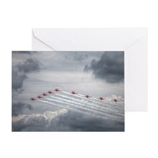Arrows nine Greeting Card