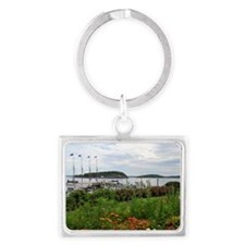 Bar Harbor, Maine Landscape Keychain