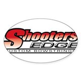 Shooters Edge Oval Decal