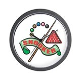 Snooker Pool Design Wall Clock