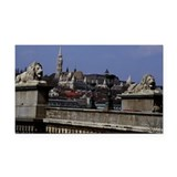 Chames Bridge in Budapest Rectangle Car Magnet