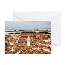 Overview of Venice, Italy Greeting Card