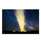 Old faithful geyser and m Postcards (Package of 8)