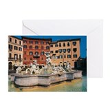 Rome, Piazza Navona Greeting Card