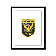 Cincinnati Police Framed Panel Print