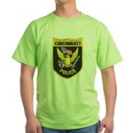 Cincinnati Police Green T-Shirt