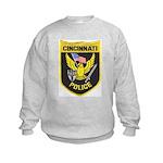Cincinnati Police Kids Sweatshirt