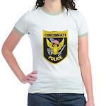 Cincinnati Police Jr. Ringer T-Shirt