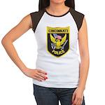 Cincinnati Police Women's Cap Sleeve T-Shirt