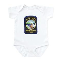 Niagara Falls Police K9 Infant Bodysuit