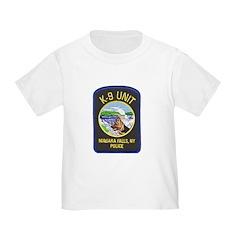 Niagara Falls Police K9 Toddler T-Shirt