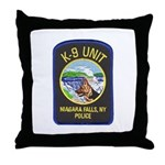 Niagara Falls Police K9 Throw Pillow