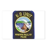 Niagara Falls Police K9 Postcards (Package of 8)