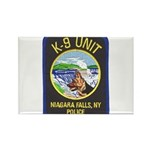 Niagara Falls Police K9 Rectangle Magnet