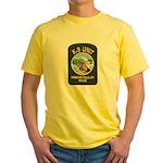 Niagara Falls Police K9 Yellow T-Shirt