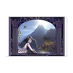 Celtic Maiden Awaits Mini Poster Print