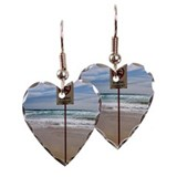 Dangerous conditions Earring Heart Charm
