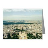 Paris, Je t'aime Note Cards (Pk of 20)