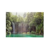 Waterfall in Plitvice lakes natio Rectangle Magnet