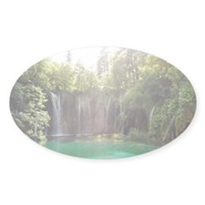 Waterfall in Plitvice lakes n Decal
