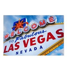 the 'Welcome to Las Vegas Postcards (Package of 8)