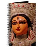 Idol of Goddess Durga, close up Journal