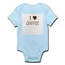 I (heart) COFFEE Infant Bodysuit