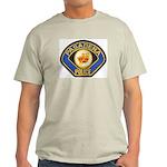 Pasadena Police Ash Grey T-Shirt