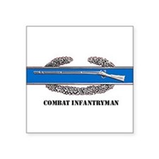 Combat Infantryman's Badge Rectangle Sticker