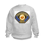 Pasadena Police Kids Sweatshirt