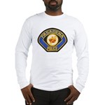 Pasadena Police Long Sleeve T-Shirt
