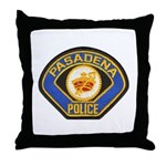 Pasadena Police Throw Pillow