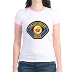 Pasadena Police Jr. Ringer T-Shirt