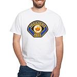 Pasadena Police White T-Shirt