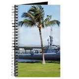 Military ship in the sea, USS Bowfin, Pear Journal