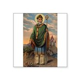 Saint Patrick Oval Sticker