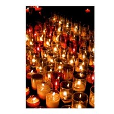 Candles Postcards (Package of 8)