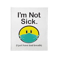 Bad Breath Throw Blanket