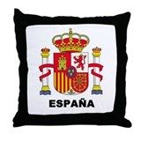 España Throw Pillow