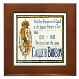 Rue Bourbon Tiles Framed Tile