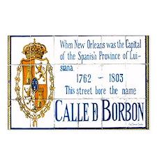 Rue Bourbon Tiles Postcards (Package of 8)