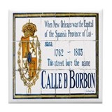 Rue Bourbon Tiles Tile Coaster