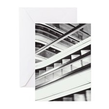 escalator Greeting Cards (Pk of 20)