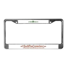 Lefty Pride and TSPC logo License Plate Frame