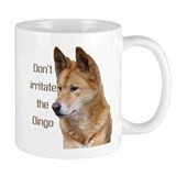 """Don't Irritate The Dingo"" Small Mug"