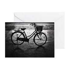Close up of bicycle. Greeting Card
