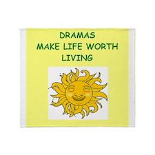 drama Throw Blanket